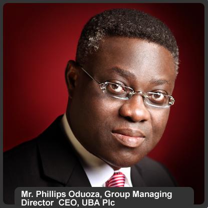 Mr. Phillips Oduoza, UBA MD