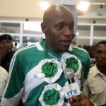 Nigerians Welcome SUPER EAGLES
