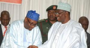 Muazu and President Jonathan