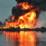 BREAKING: Chaos In Lagos As NNPC Pipeline Explodes