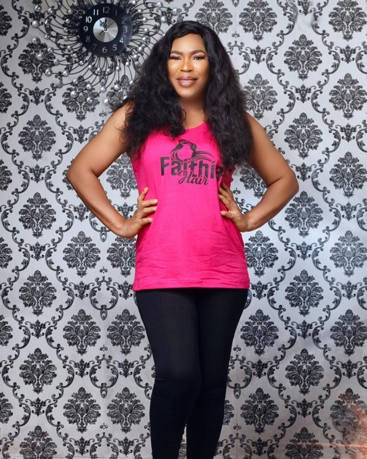 See Why People Are Talking About Mercy Aigbe, Fathia