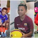 Peter Okoye Ecstatic As Laliga And FIFA Licence Agent Recognize His Son Cameron