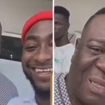 In video: Watch Nollywood Actor Mr Ibu Chill At Singer Davido's Mansion